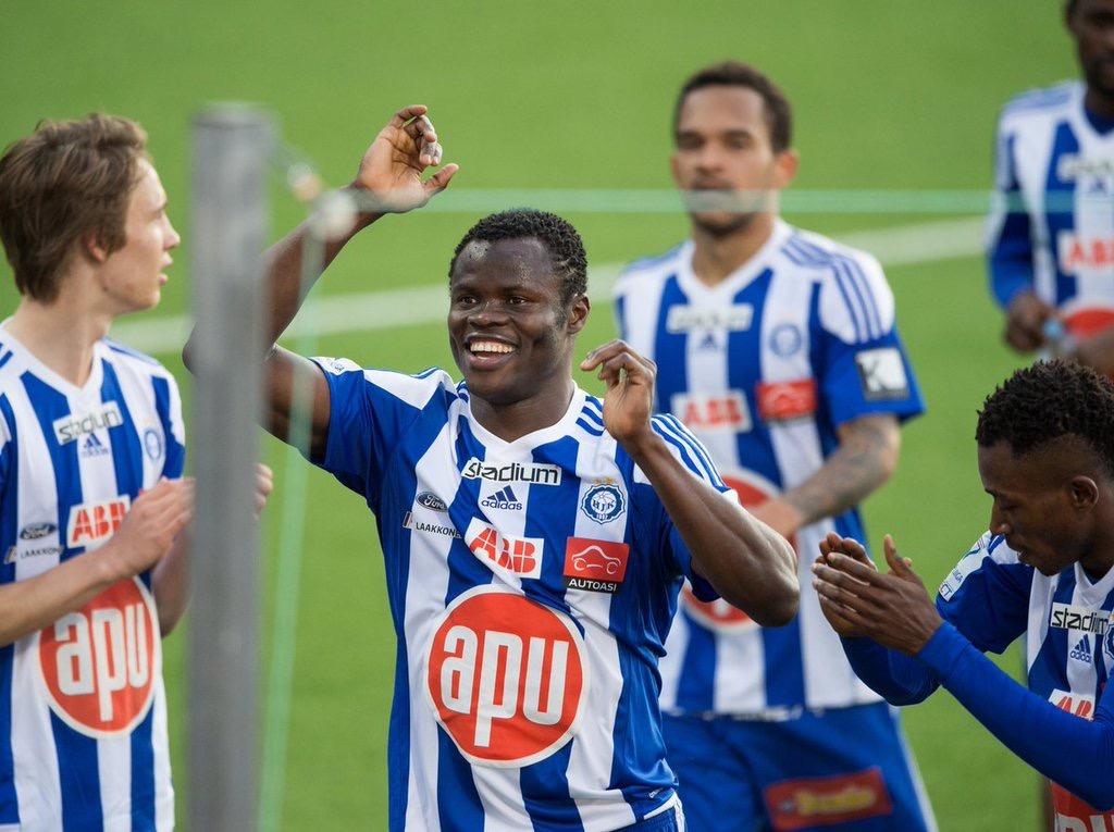 Taiwo Beats Oduamadi, Salami To  Finnish League Player Of The Month Award