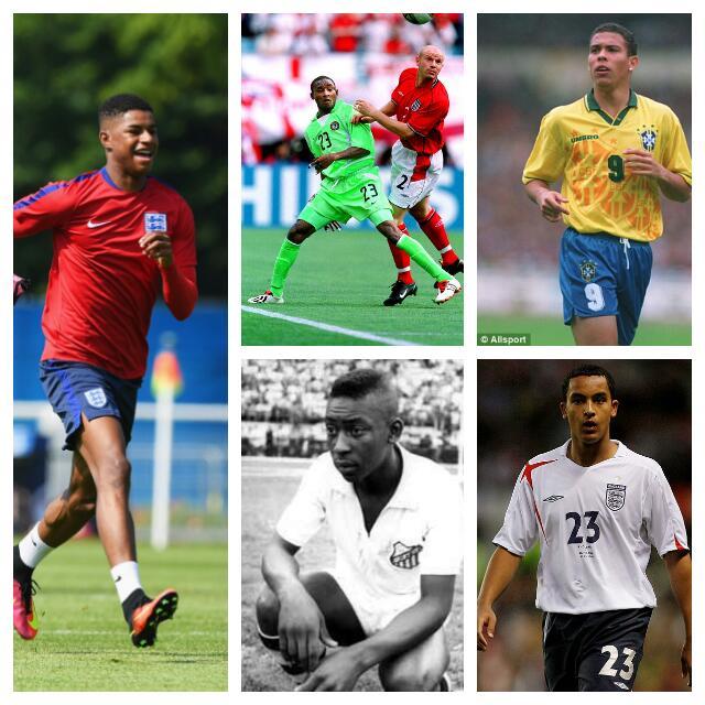 RASHFORD @ EURO 2016: Four Teenage Surprises At Major Tournaments
