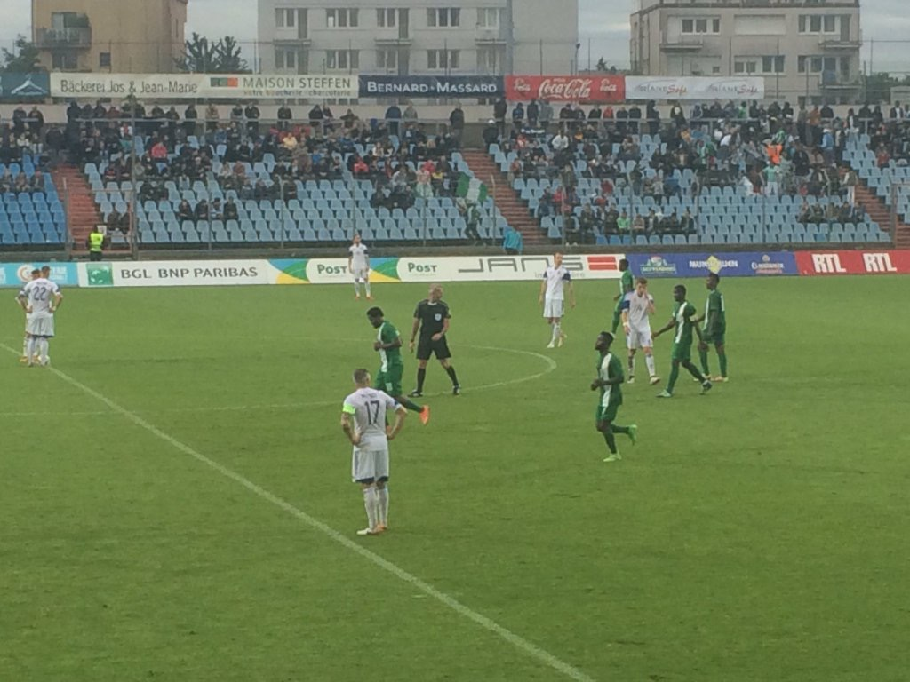 Super Eagles Celebrate Win Over Luxembourg On Social Media