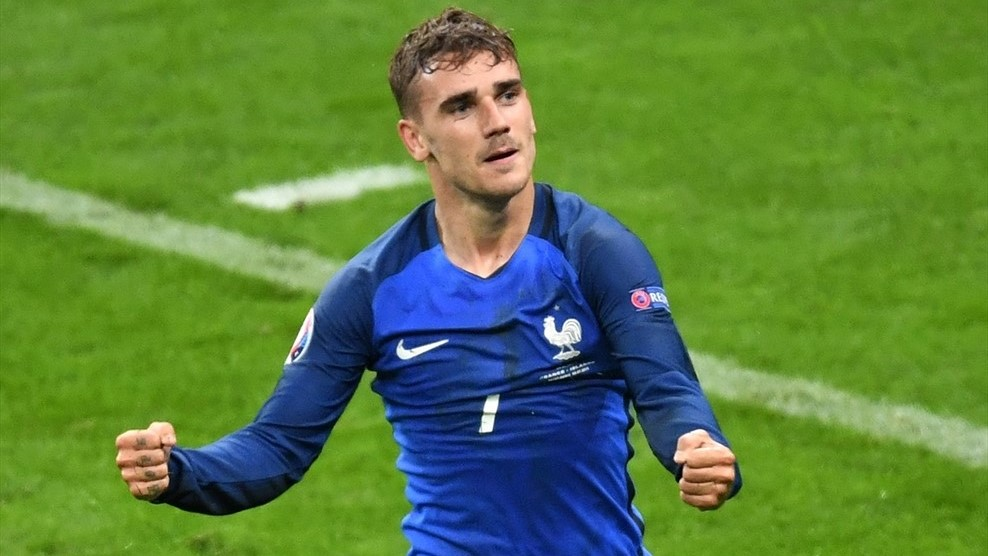 Griezmann Named Euro 2016 Player Of The Tournament