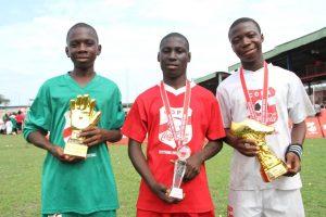 Best Goalkeeper, James Ogenetega; Most Valuable Player, Million Koma; and Highest Goal Scorer, Prosper Chidera Ojukwu