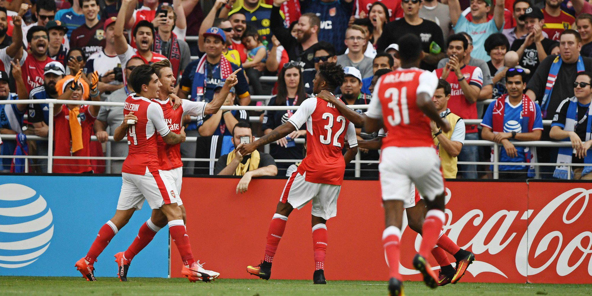 Akpom Thrilled By Arsenal's Win Vs Viking, Targets Man City