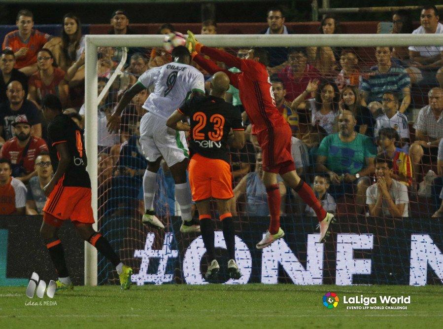 Valencia Outscore NPFL All-Stars In La Liga Tour Clash