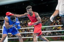 Image result for Efe Ajagba turns professional in USA