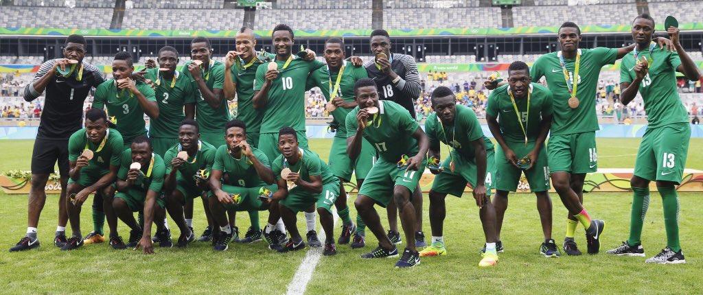Oliseh Praises Sadiq, Shehu, Azubuike After Olympic Eagles' Bronze