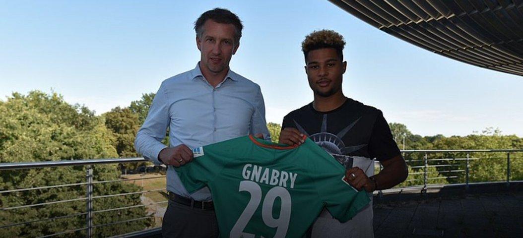 Gnabry Joins Werder Bremen From Arsenal