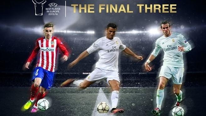 Ronaldo, Bale, Griezmann For UEFA MVP Award; Messi Misses Out