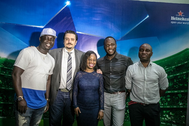 11.Seyi Law; Marketing Director, Franco Maria Maggi; Amina Jagun; Brand Manager, Obabiyi Fagbade; Portfolio Manager, International Brands, Sampson Oloche