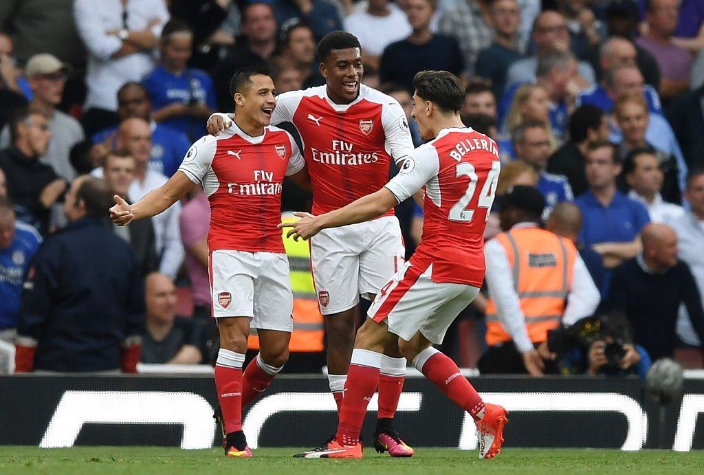 Iwobi, Ozil, Alexis Up For Arsenal September Player Award