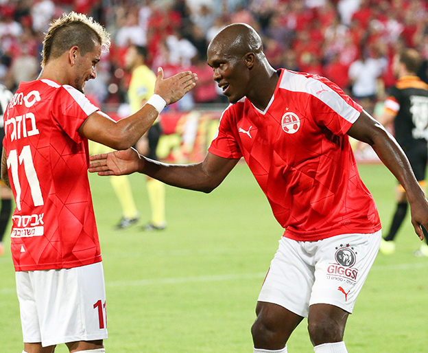 Europa: Nwakaeme Scores, Ogu Stars In Hapoel Win; Esiti, Simon In Action