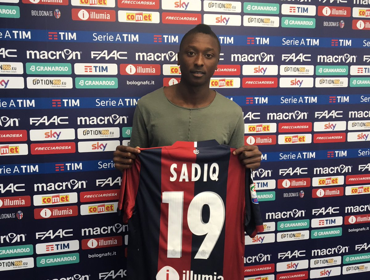 Sadiq: Bologna My Big Chance To Shine