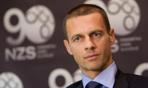 Slovenia's Ceferin Succeeds Platini As UEFA President