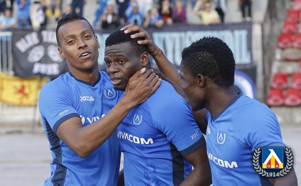 Adeniji Scores In Levski Sofia's Cup Win; Uzochukwu Loses With Odense