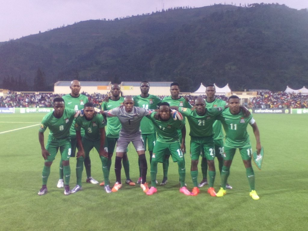 Zambia  Coach Nyirenda Happy With Team Spirit Ahead Super Eagles Clash