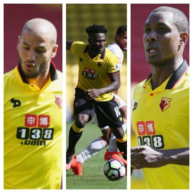 Watford's Algeria Star Guedioura: Ighalo, Success Now My 'Enemies'