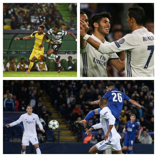 UCL: Musa Benched Again, Mahrez Scores As Leicester Win; Real Smash Legia