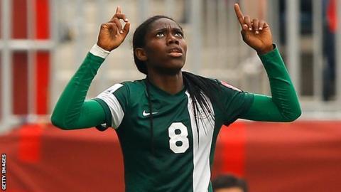 AWCON: Oshoala Scores Four As Super Falcons Spank Mali