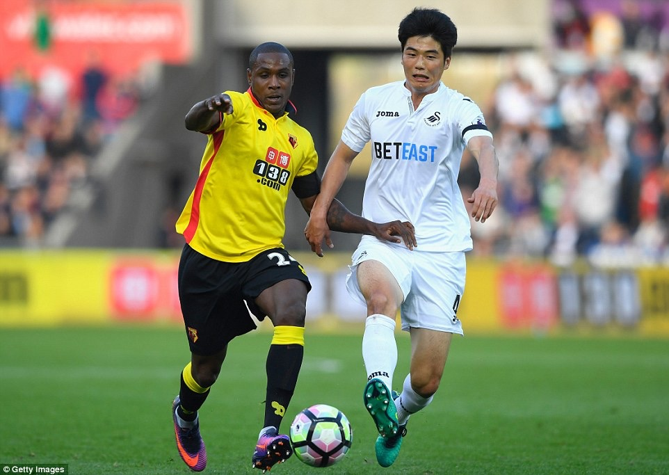 Ighalo Back For Watford, Fires Blanks In Swansea Draw