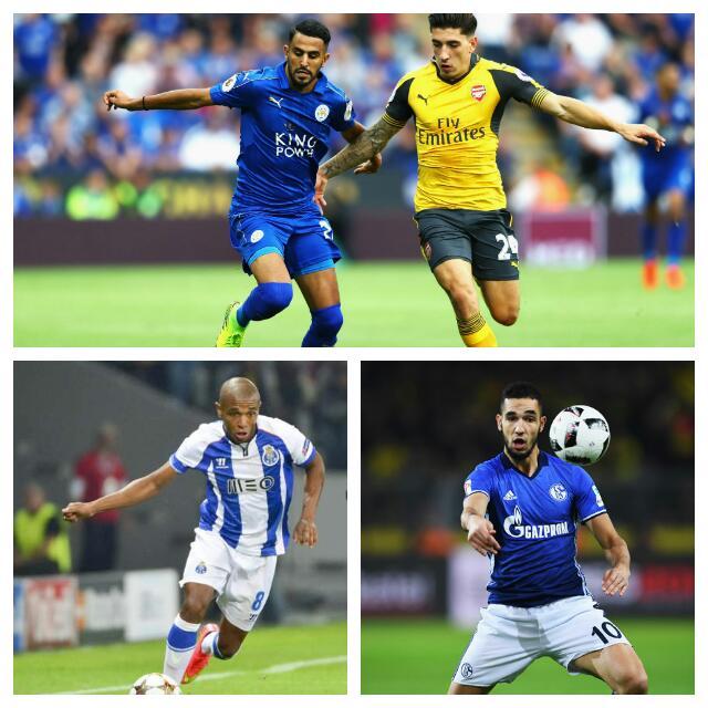 MAHREZ & THE GANG: 5 Algeria Players Super Eagles Must Watch