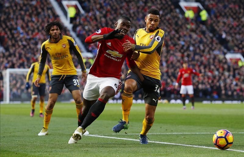 Iwobi Dropped As Lucky Arsenal Peg Back Man United