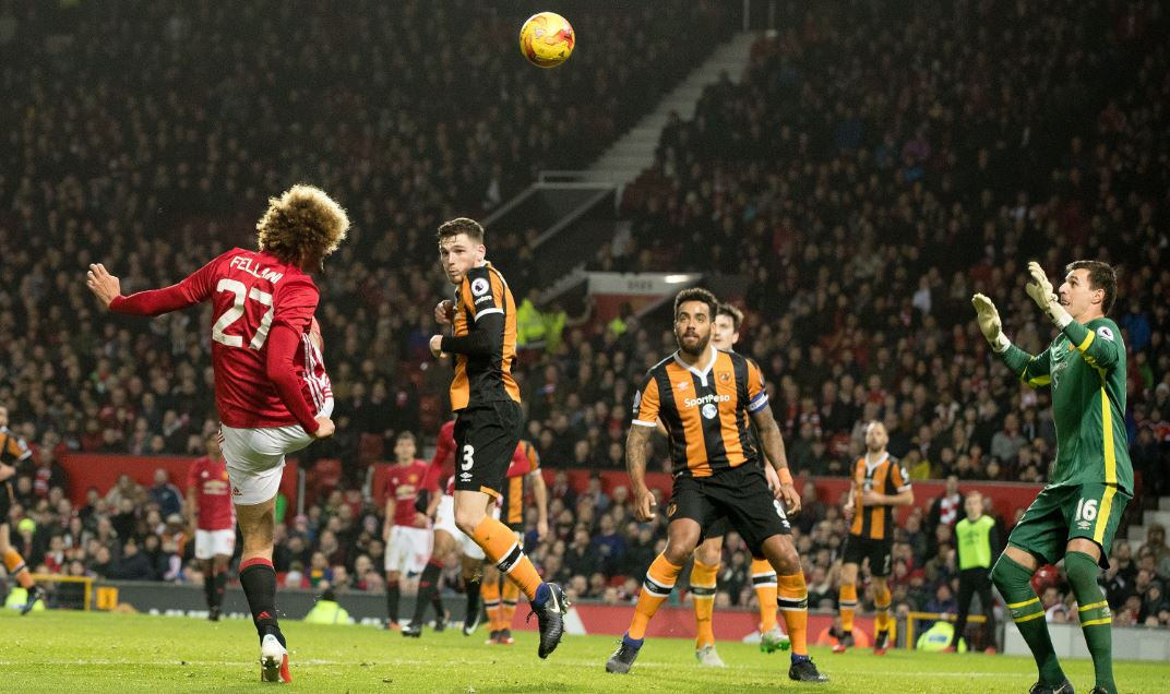 EFL Cup: Mata, Fellaini Give Man United Edge Over Hull