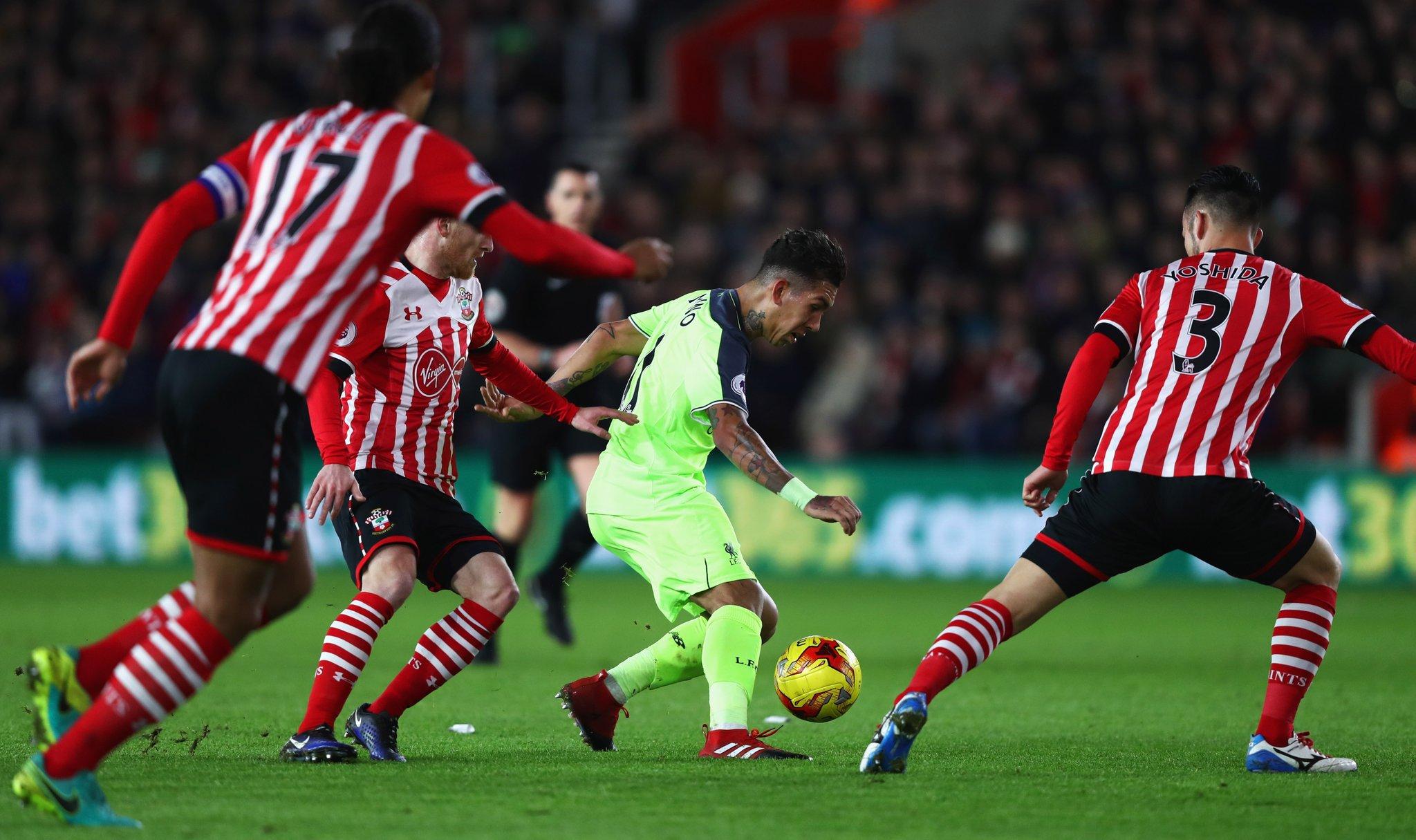 EFL Cup: Southampton Take First Leg Advantage Over Liverpool