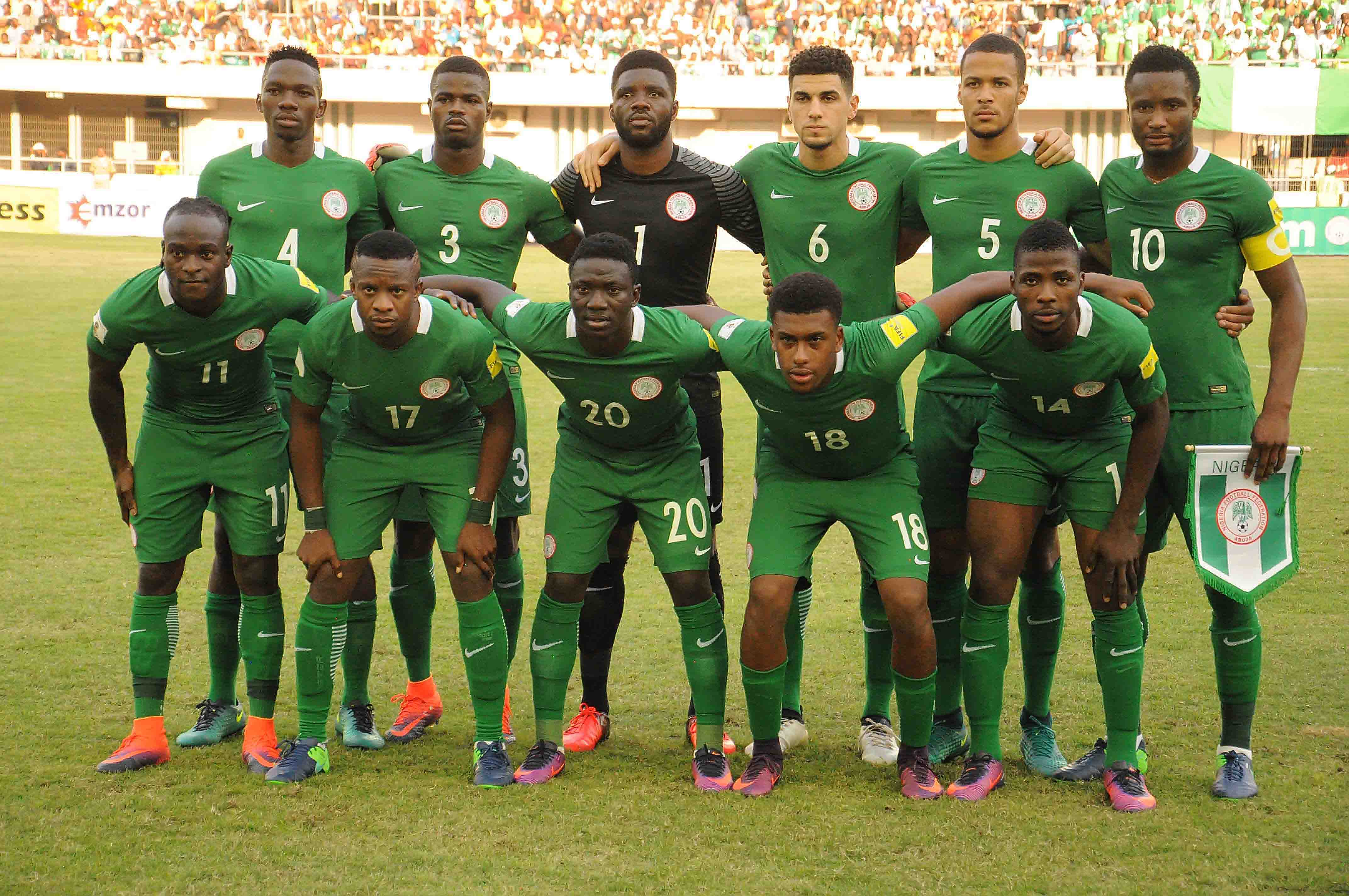 Image result for Nigeria team vs senegal