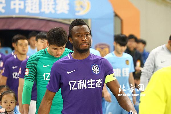 Tianjin TEDA Coach Praises Emergency Defender Mikel, Ideye