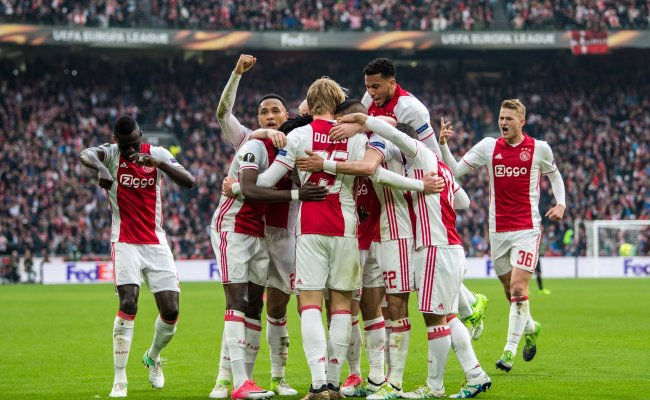 Complete Sports Nigeria Ajax Stun Lyon Set For Europa