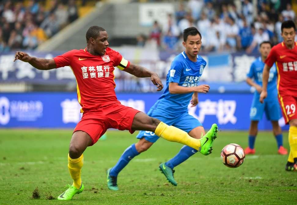 Ighalo's Goal Run Halted As 10-Man Tianjin Hold Changchun