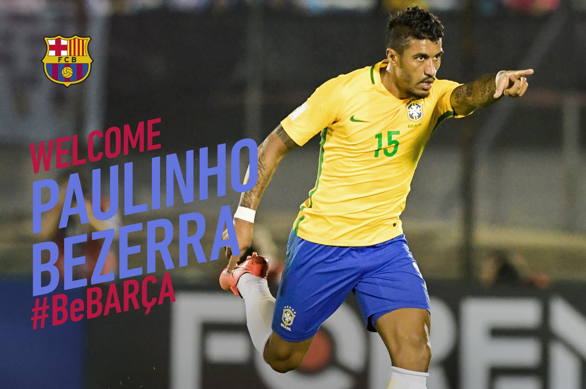 Barcelona Finalize Deal For Paulinho