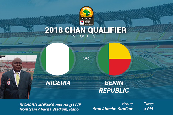 CHAN Qualifier: Nigeria Beats Benin 2-1 in kano