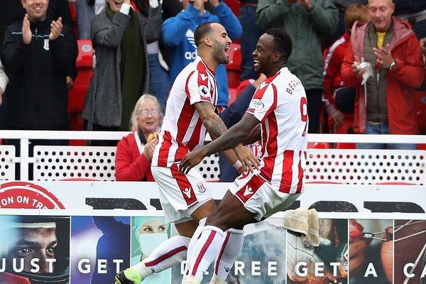 Iwobi Can't Save Arsenal As Jese Scores On Stoke Debut