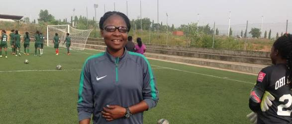 Omagbemi Nominated For FIFA Best Women's Coach Award