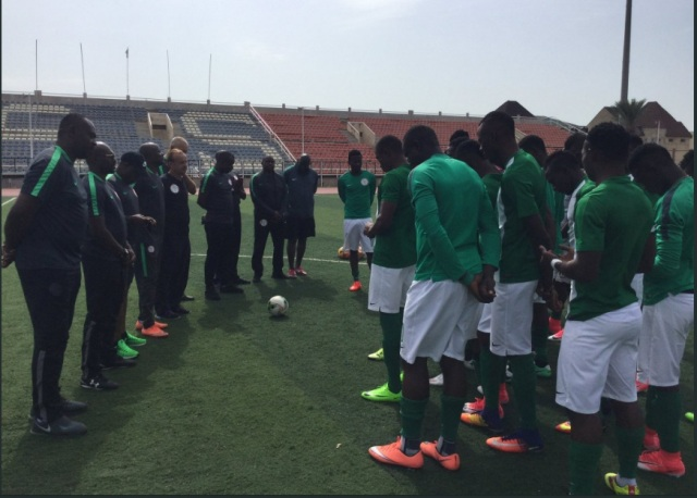 Gernot Rohr hits CHAN Eagles camp with new goalkeeper trainer Enrico Pionetti
