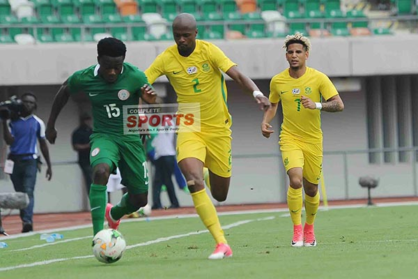 Bafana Bank On Inspiration From Eagles Thrashing Ahead W/Cup Qualifier Vs Burkina Faso