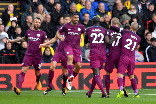 Iheanacho Starts, Musa Dropped As Leicester Hold Huddersfield; Man City Cruise, Liverpool Held