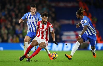 Brighton fights back twice, draws 2-2 with Stoke in EPL