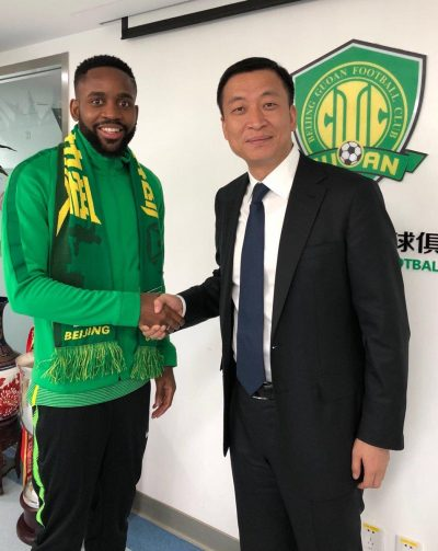 Bakambu Completes £65m China Move, Becomes Africa's Costliest Player