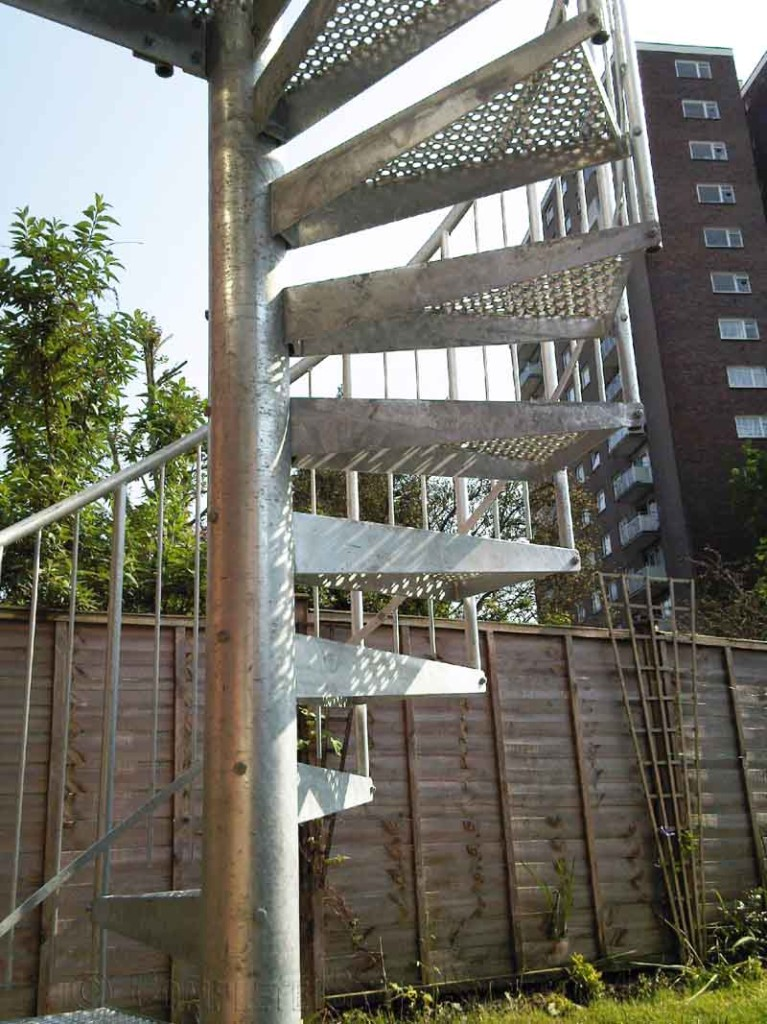 Spiral Staircase London  Small Access Spiral Staicase