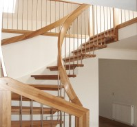 Timber Staircase Dumfries - part of a loft conversion