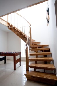 Bespoke Timber Staircase New Malden | Spiral Staircases ...