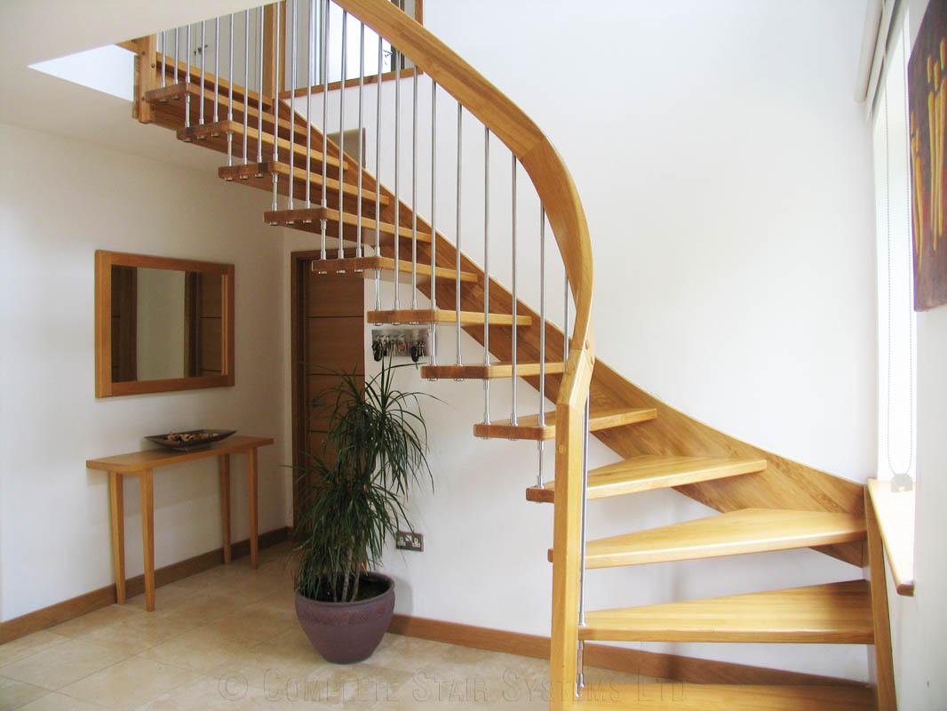 Bespoke Timber Staircase Sevenoaks Spiral Staircases