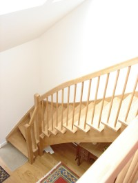 Timber Staircase Southampton in an open and modern style