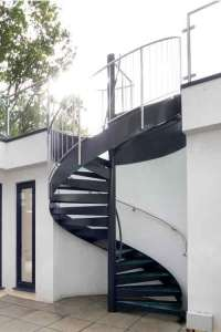 Spiral Staircases in Bespoke & Kit Form  View Case
