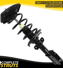 rear left quick complete strut spring assembly 2004 2013 buick chevy pontiac [ 1000 x 1000 Pixel ]
