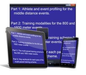 Scott Christensen - Complete Middle Distance (800-1600) Training
