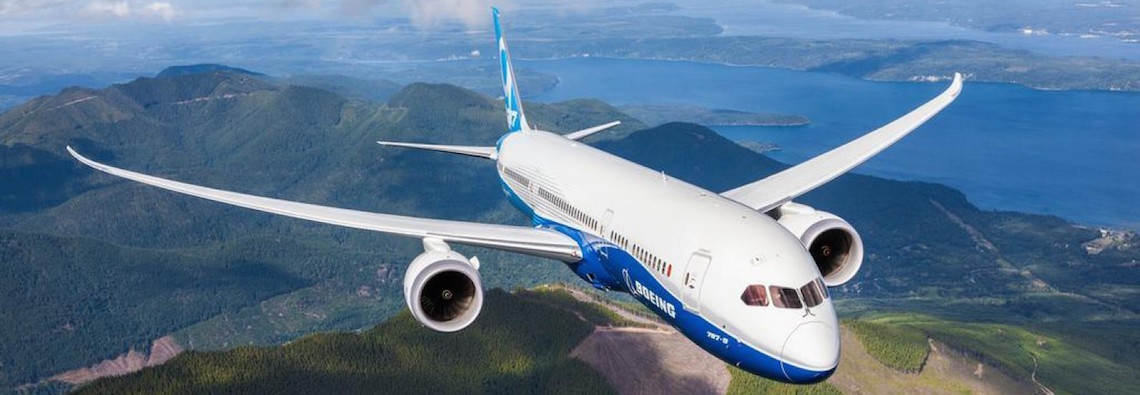 The Boeing 787 Dreamliner could be getting an AI upgrade. (Courtesy Boeing/Carnegie Mellon)