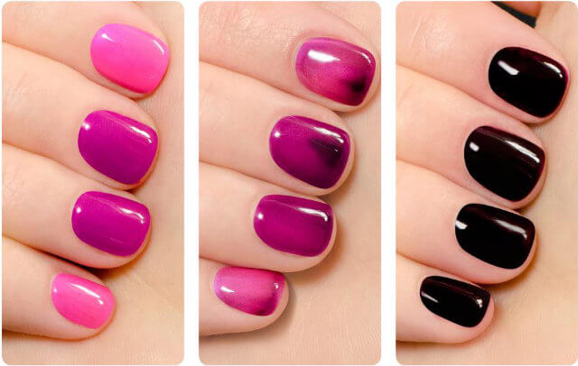 Orly changing colours and moods for nails