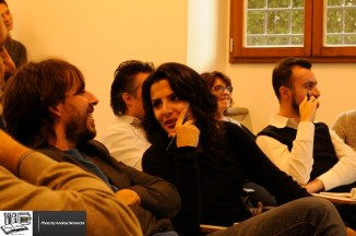 Claudio Guidi e Asli Zengin al CM Literacy Meeting